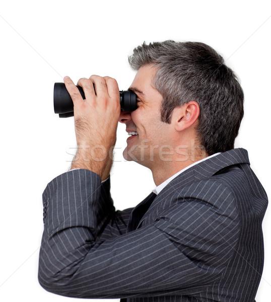 Businessman predicting future success  Stock photo © wavebreak_media
