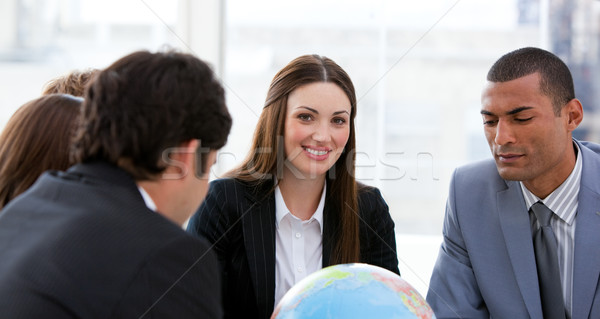 Ambitious business team having a brainstorming about expansion Stock photo © wavebreak_media