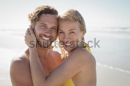 Lovely couple in honey moon Stock photo © wavebreak_media