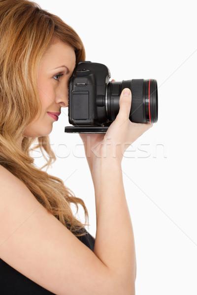 女性 写真 カメラ 白 少女 ストックフォト © wavebreak_media