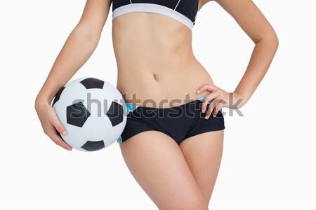 Dopasować dziewczyna zielone bikini Zdjęcia stock © wavebreak_media