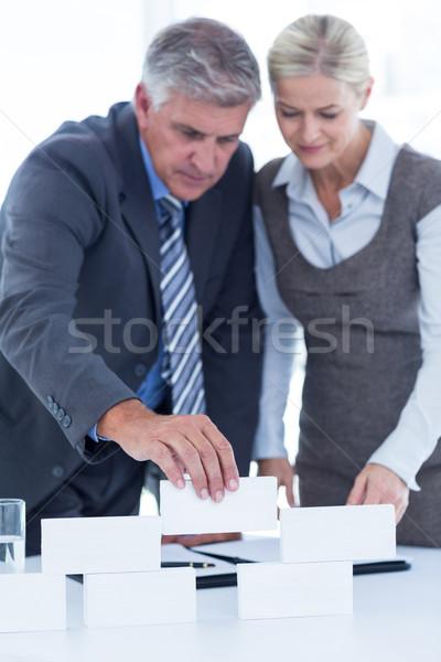 Ludzi biznesu budynku struktury biuro kobieta Zdjęcia stock © wavebreak_media