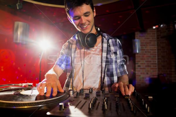 Cool muzyki strony bar noc klub Zdjęcia stock © wavebreak_media