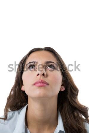 путать женщины исполнительного белый портрет бизнеса Сток-фото © wavebreak_media