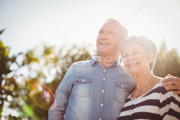 Front view of happy senior couple Stock photo © wavebreak_media