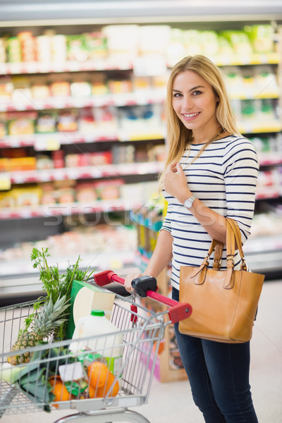 Customer at supermarket Stock photo © wavebreak_media