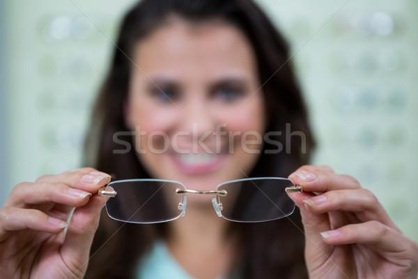 女性 顧客 眼鏡 オプティカル ストア ストックフォト © wavebreak_media