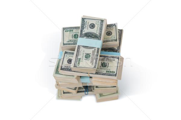 сто долларов банка отмечает белый бизнеса Сток-фото © wavebreak_media