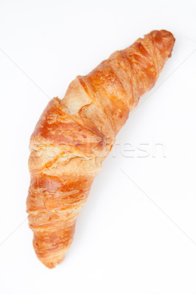 Croissant against a white background Stock photo © wavebreak_media