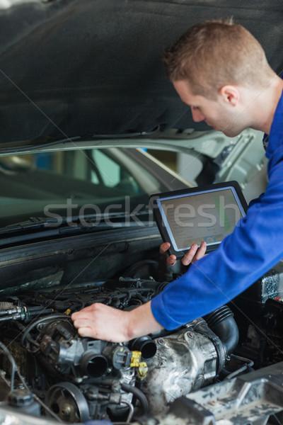 車 エンジン 男性 ストックフォト © wavebreak_media