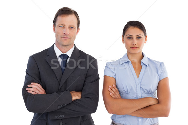 Co workers standing next to each other Stock photo © wavebreak_media