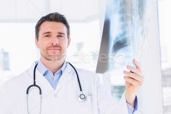 Ritratto medico di sesso maschile Xray medici ufficio Foto d'archivio © wavebreak_media