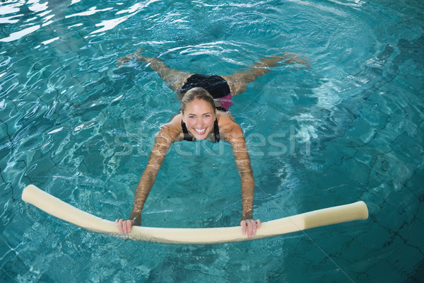 Encajar natación espuma piscina ocio Foto stock © wavebreak_media