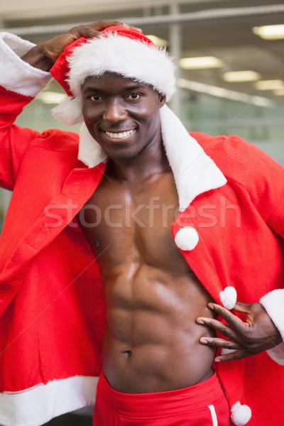 Macho homem traje ginásio retrato Foto stock © wavebreak_media