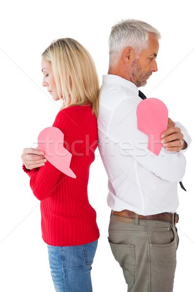 Paar twee witte vrouw Stockfoto © wavebreak_media