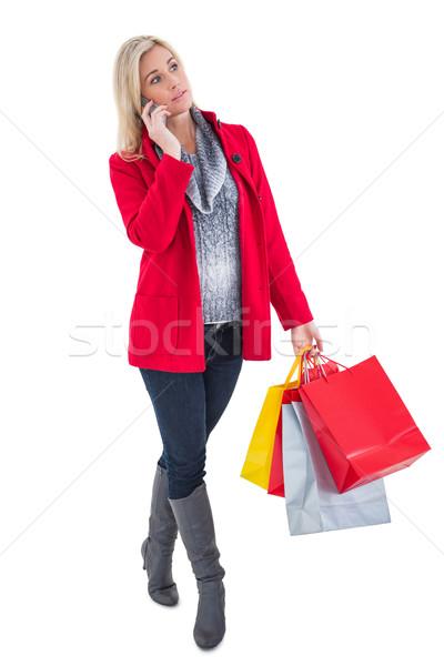 Feliz invierno ropa Foto stock © wavebreak_media