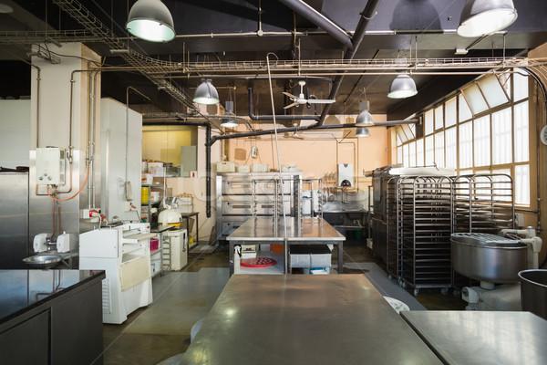 Nessuno stanza cucina panetteria business Foto d'archivio © wavebreak_media