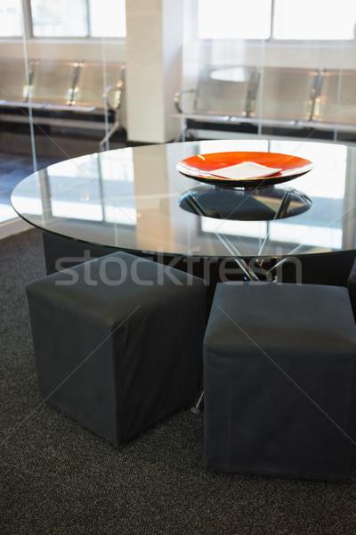 Stock photo: Empty common room