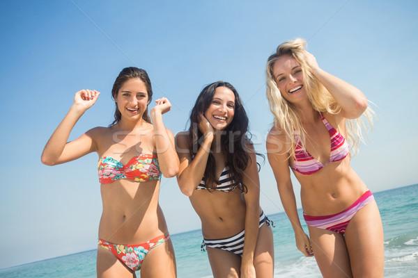 group of friends in swimsuits  Stock photo © wavebreak_media