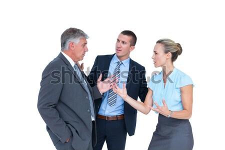 üzletemberek nézeteltérés fehér férfi csapat vállalati Stock fotó © wavebreak_media