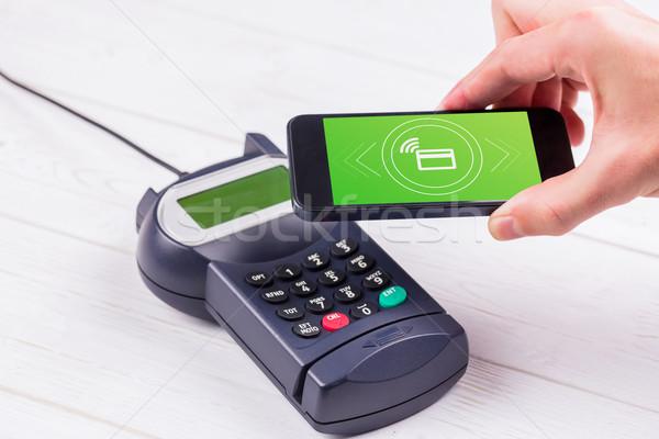 Composite image of payment screen Stock photo © wavebreak_media
