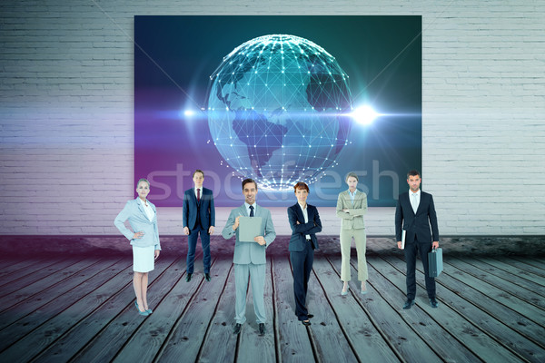 Composite image of business team Stock photo © wavebreak_media
