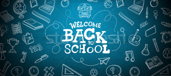 Composite image of back to school Stock photo © wavebreak_media
