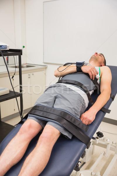 Man vinden uit medische centrum sport Stockfoto © wavebreak_media