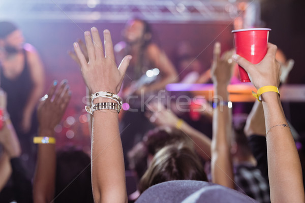 Fans enjoying music concert Stock photo © wavebreak_media