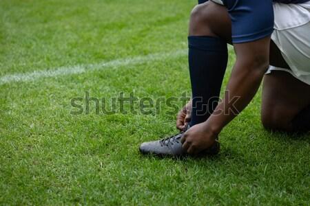 низкий мяч для регби играет Сток-фото © wavebreak_media