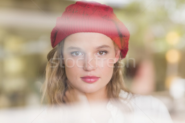 Portrait of a blonde woman Stock photo © wavebreak_media