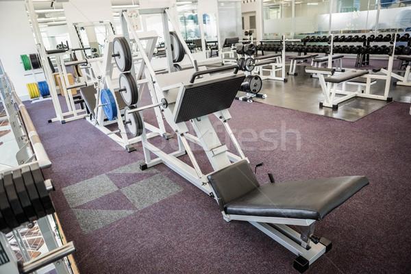 健身房 沒有人 室內 健康 俱樂部 行使 商業照片 © wavebreak_media