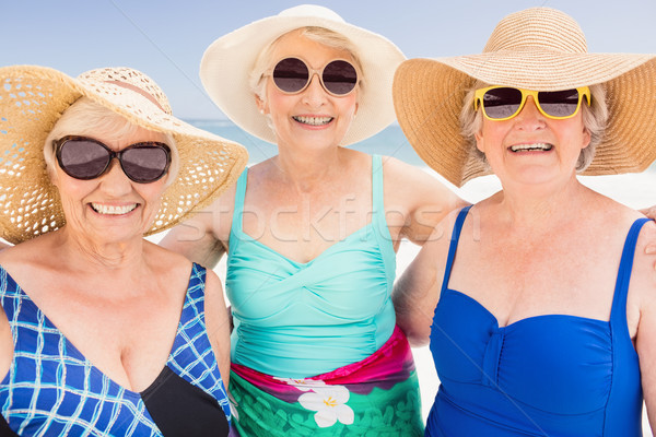 Portrait of senior woman friends Stock photo © wavebreak_media
