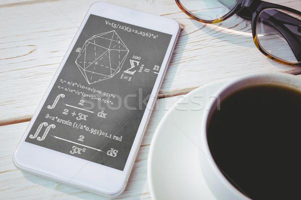 изображение геометрия проблема телефон экране Сток-фото © wavebreak_media