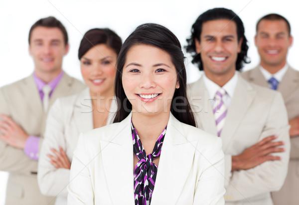 Présentation affaires internationales équipe blanche sourire homme Photo stock © wavebreak_media