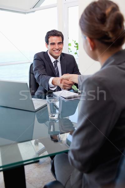 Ritratto manager femminile richiedente ufficio business Foto d'archivio © wavebreak_media