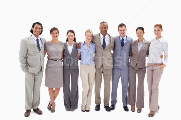 équipe commerciale bras blanche Homme professionnels Homme Photo stock © wavebreak_media