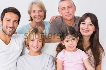 Három generáció család családi portré nő boldog Stock fotó © wavebreak_media