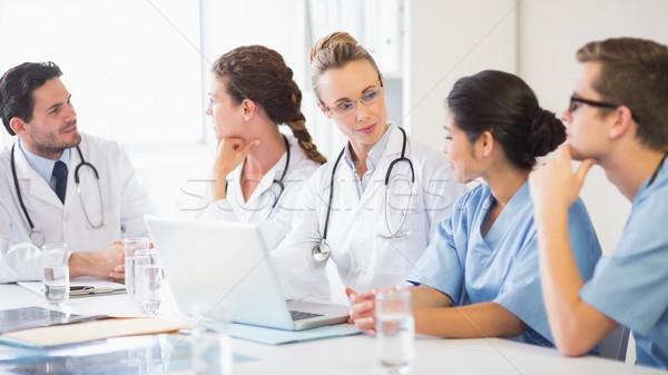 Medical team discussing Stock photo © wavebreak_media