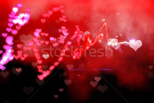 Digitalmente generato amore rosso Foto d'archivio © wavebreak_media