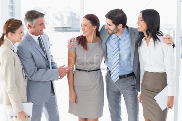 бизнес-команды улыбаясь человека команда Сток-фото © wavebreak_media