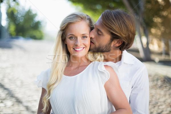 Attractive couple spending time together Stock photo © wavebreak_media