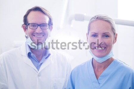 International business people standing with folded arms  Stock photo © wavebreak_media