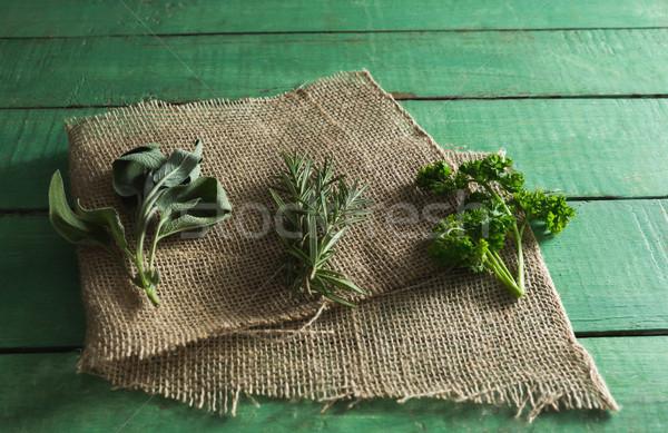 Tip otlar gıda Stok fotoğraf © wavebreak_media