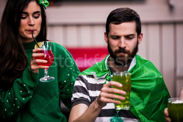Friends celebrating St Patricks day Stock photo © wavebreak_media