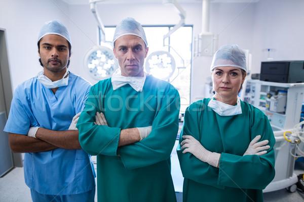 Portre cerrahlar ayakta operasyon oda Stok fotoğraf © wavebreak_media