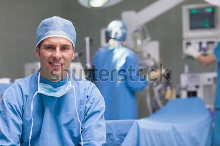 Portret kobiet pielęgniarki chirurgiczny taca Zdjęcia stock © wavebreak_media