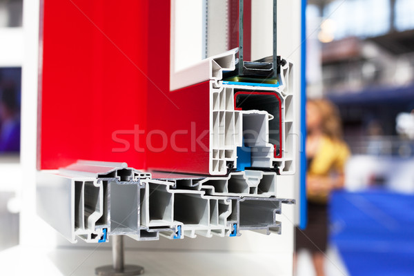 PVC window or door profile Stock photo © wellphoto