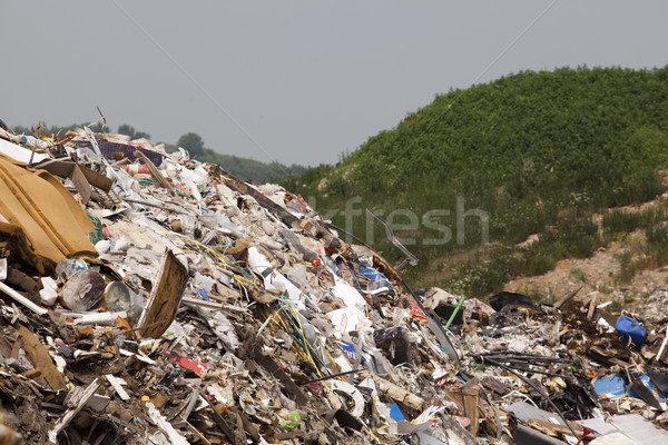 Garbage dump Stock photo © wellphoto