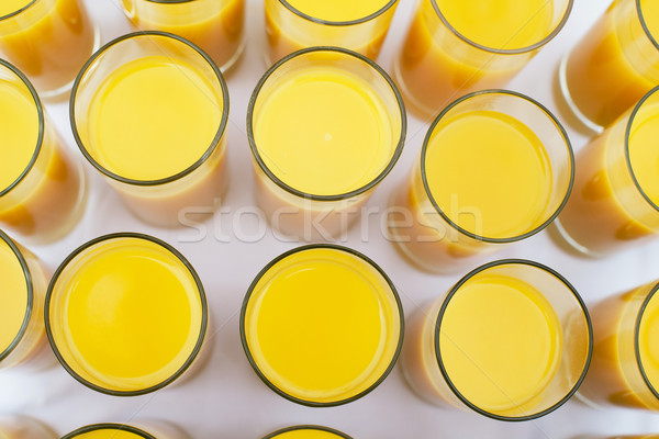 Glasses of orange juice  Stock photo © wellphoto